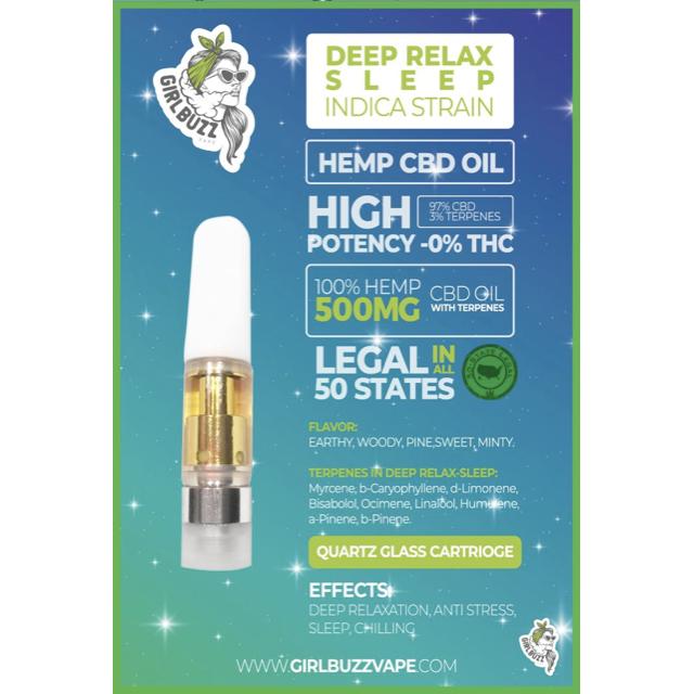 Deep Relaxation | Sleep CBD Oil Vape